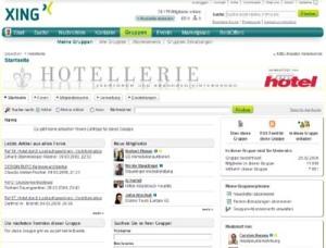 Fachforum HOTELLERIE bei xing.com