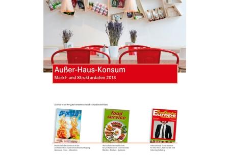 Außer Haus Konsum - Marktdaten 2013